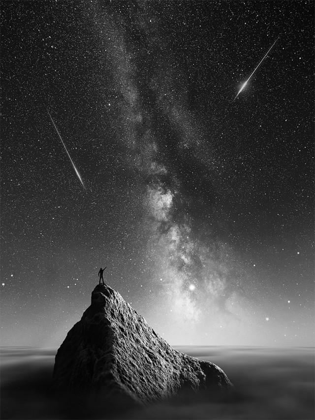 «Звёздный охотник». Гран-при за одиночное фото, 2020. Автор Томаш Тисон