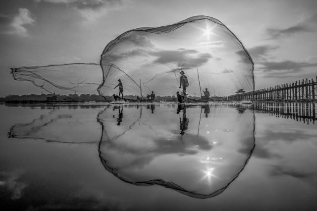 «Мандалайский рыбак». 2-е место в категории «Путешествия», 2020. Автор Чин Леон Тэо
