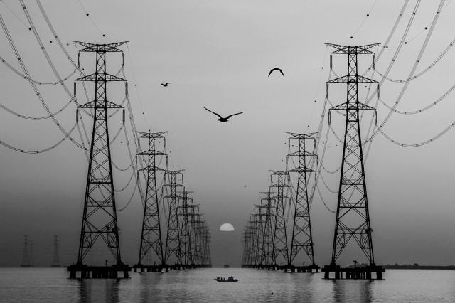 «Линия электропередачи». 3-е место в категории «Архитектура», 2020. Автор Шин Ву Рю