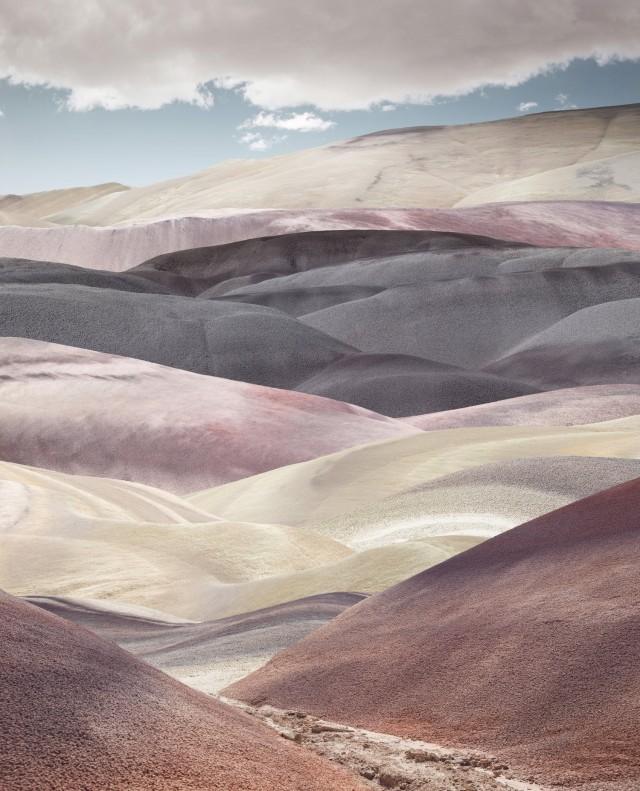 Пастельные холмы. Победитель в категории «Пейзаж», 2018. Автор Бенджамин Эверетт