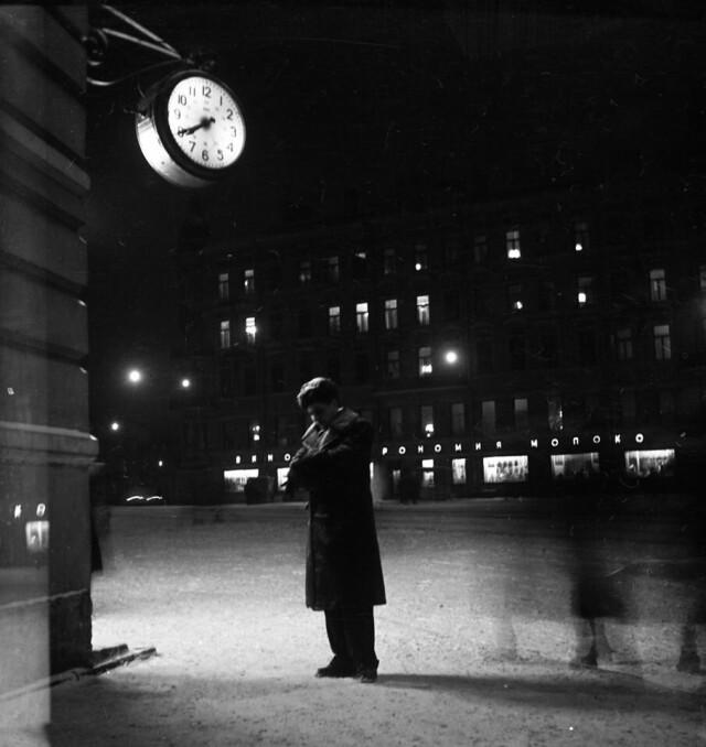 «Ожидание», 1956. Фотограф Лев Шерстенников