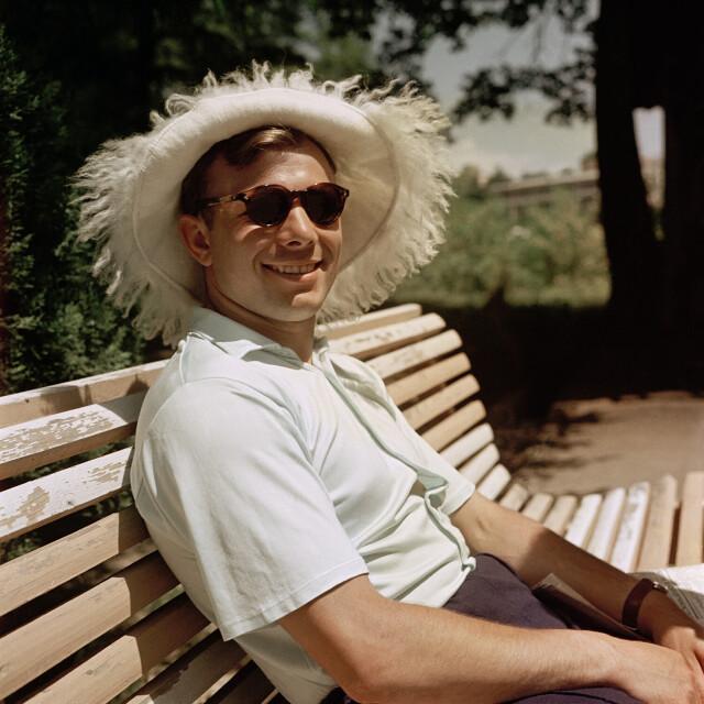 Юрий Гагарин. Сочи, 1961. Фотограф Юрий Абрамочкин