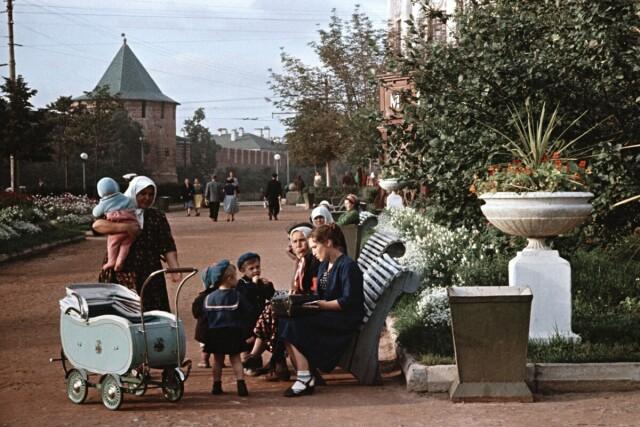 Нижний Новгород, 1950-е. Фотограф Семён Фридлянд