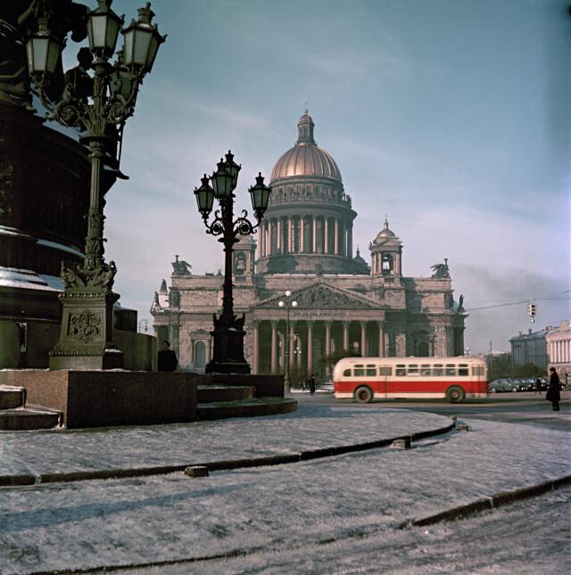 Ленинград, 1953. Фотограф Семён Фридлянд
