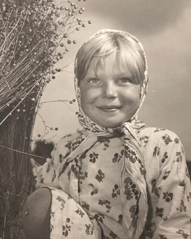 Волжанка, 1960-е. Фотограф Семён Фридлянд