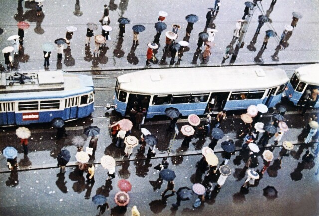 Москва, 1960-е. Фотограф Дмитрий Бальтерманц