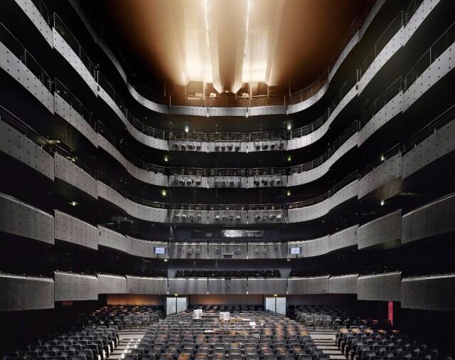 Опера Нувель, Лион, Франция, 2014 год. Фотограф Дэвид Левенти