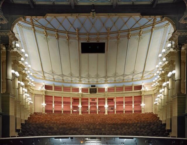 Оперный и концертный зал в Баден-Бадене, Германия, 2014 год. Фотограф Дэвид Левенти