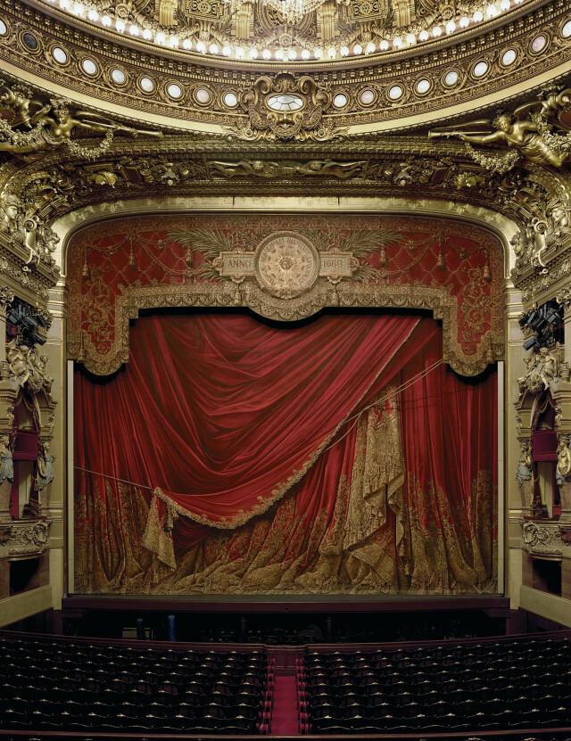Опера Гарнье, Париж, Франция, 2009 год. Фотограф Дэвид Левенти