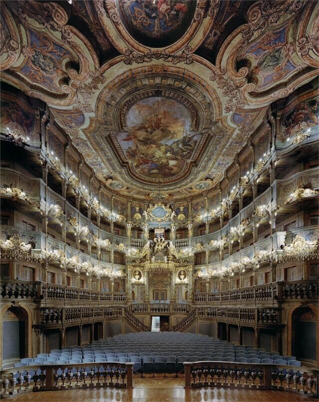 Маркграфический оперный театр, Байройт, Германия, 2008 год. Фотограф Дэвид Левенти