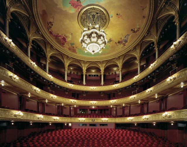 Королевская опера в Стокгольме, Швеция, 2008 год. Фотограф Дэвид Левенти