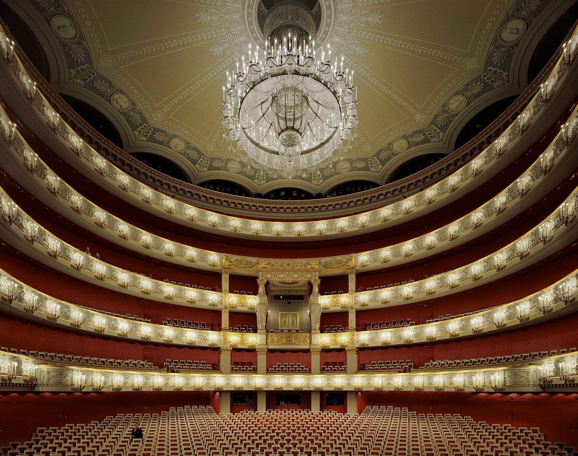 Баварская государственная опера, Мюнхен, 2009 год. Фотограф Дэвид Левенти