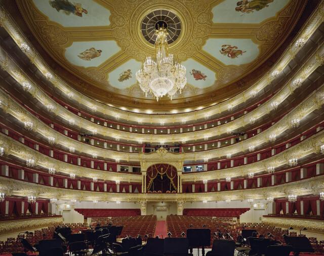 Большой театр, Москва, Россия, 2011 год. Фотограф Дэвид Левенти