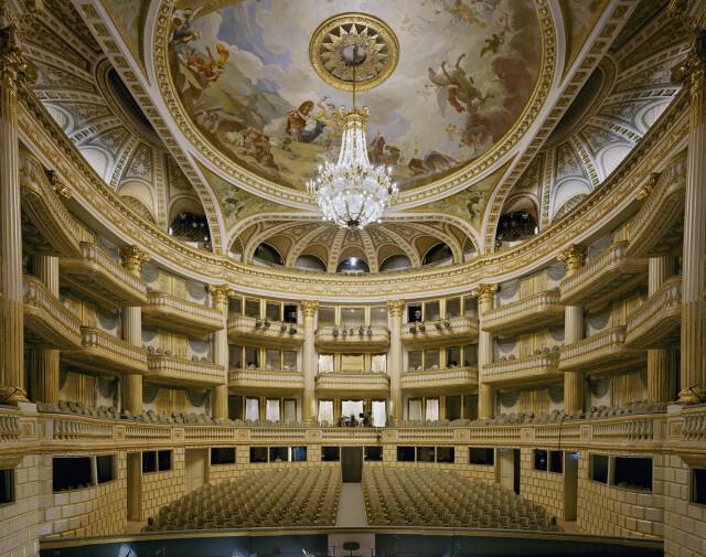 Большой театр, Бордо, Франция, 2014 год. Фотограф Дэвид Левенти