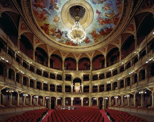 Венгерский оперный театр, Будапешт, 2008 год. Фотограф Дэвид Левенти