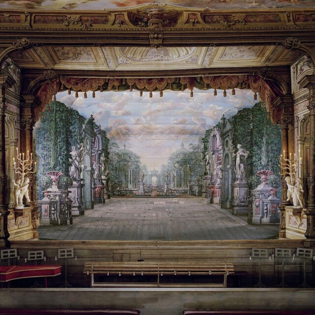 Театр замка Чешский Крумлов, Чехия, 2019 год. Фотограф Дэвид Левенти