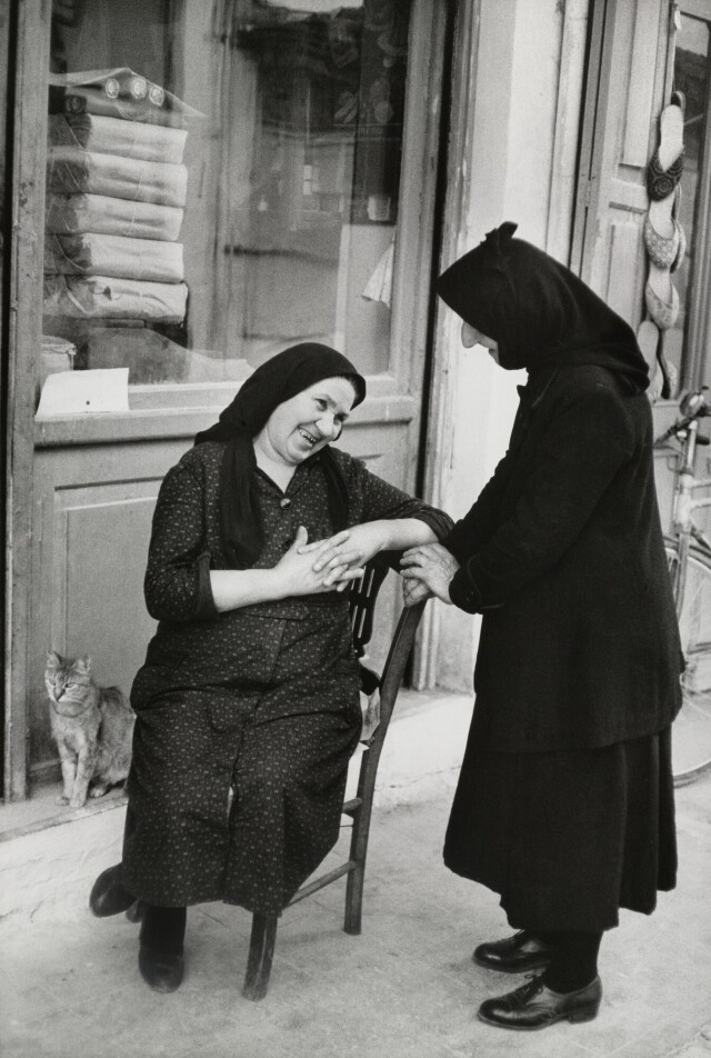 Греция, 1961. Фотограф Анри Картье-Брессон
