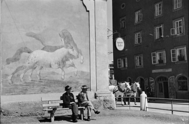 Зальцбург, Австрия, 1953. Фотограф Анри Картье-Брессон
