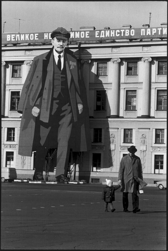 Ленинград, 1973. Фотограф Анри Картье-Брессон