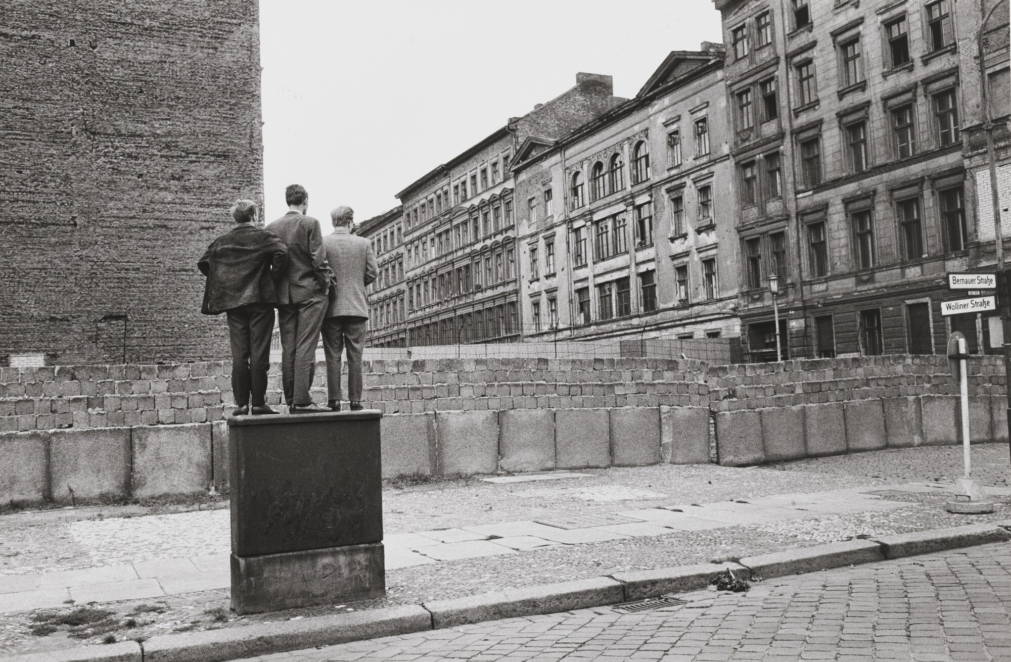 Берлин, 1963. Фотограф Анри Картье-Брессон