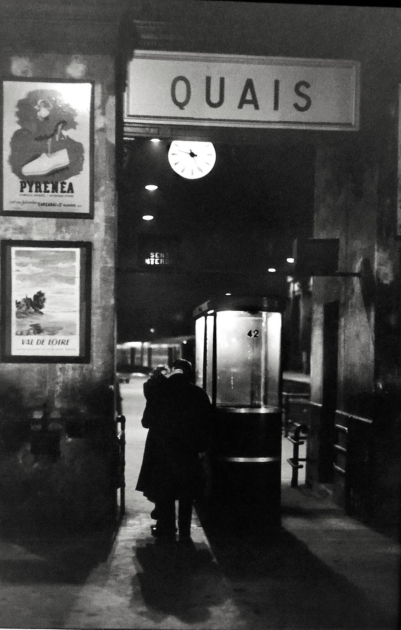 Железнодорожный вокзал, Париж, 1958. Фотограф Анри Картье-Брессон