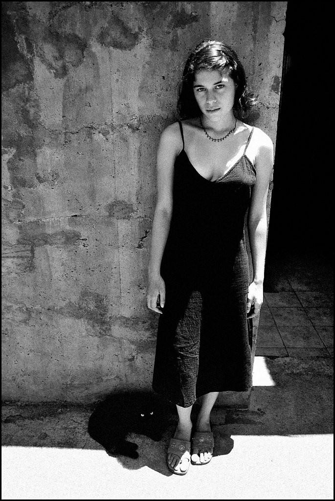 Натали. Остров Пасхи, Чили, 2003. Джефф Уайденер