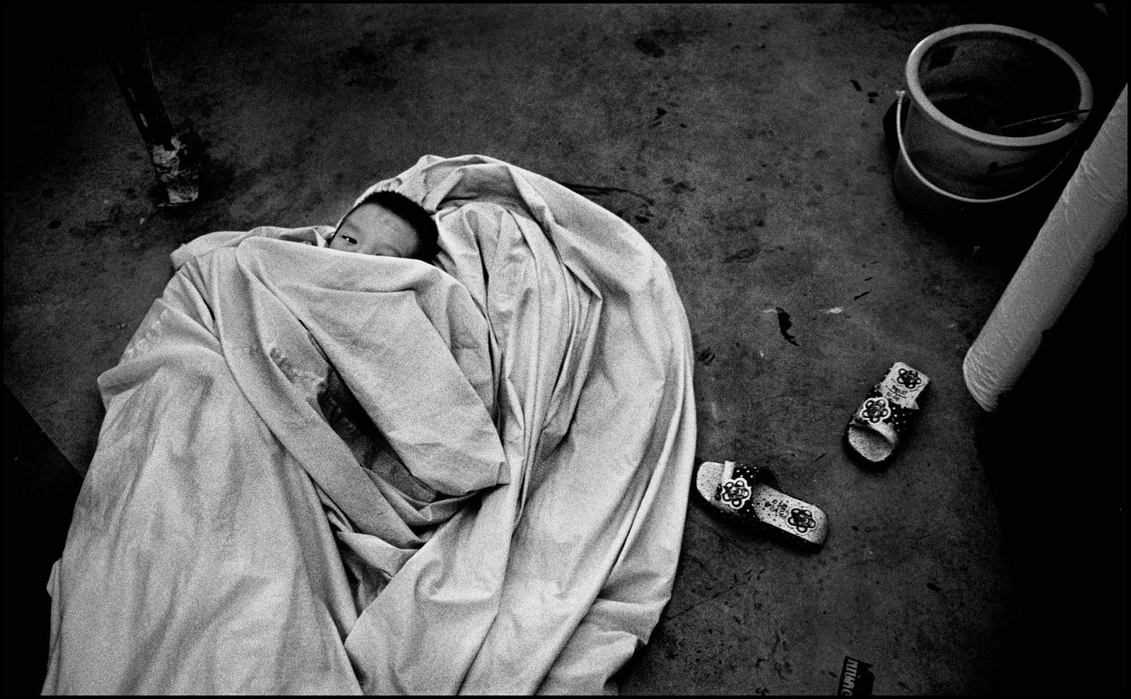 Ребёнок с вирусом иммунодефицита в Бангкоке, Таиланд, 2005. Джефф Уайденер