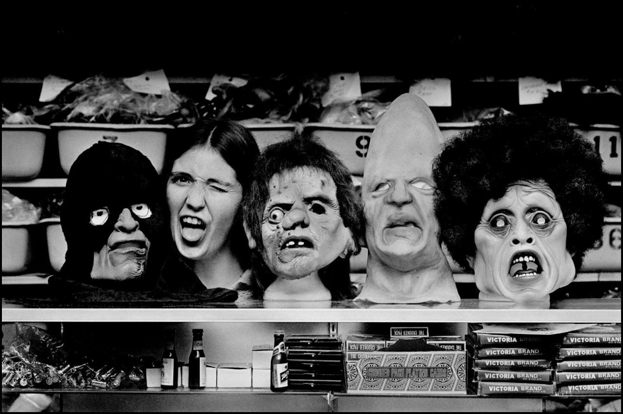 Хэллоуин в Эвансвилле, Индиана, 1981. Джефф Уайденер