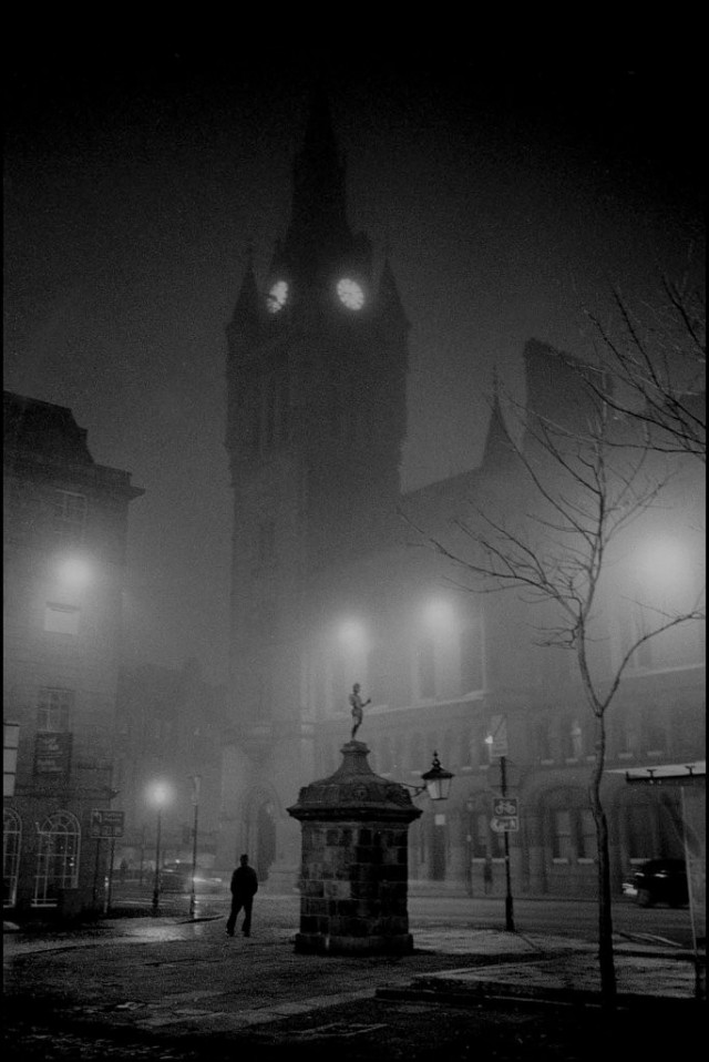 Шотландская ночь, Абердин, 2011. Джефф Уайденер
