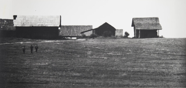 Сельская геометрия, 1978. Фотограф Борис Михалевкин