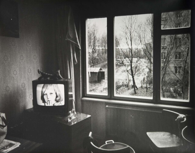 Два окна в мир, 1970-е. Фотограф Борис Михалевкин