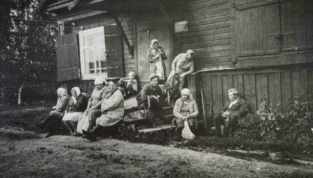 За хлебом, 1973. Фотограф Борис Михалевкин