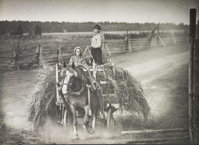 Перед грозой, 1970-е. Фотограф Борис Михалевкин