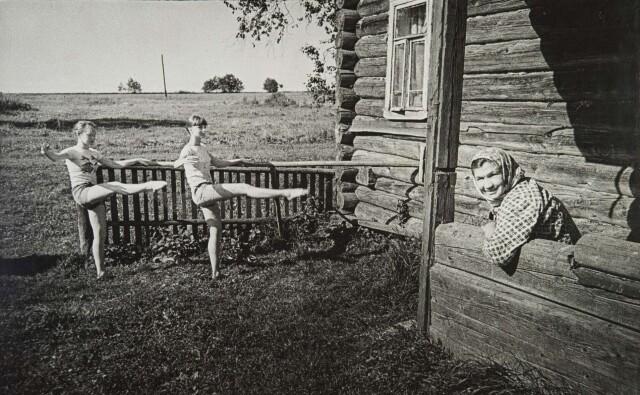 Экзерсис, 1981. Фотограф Борис Михалевкин