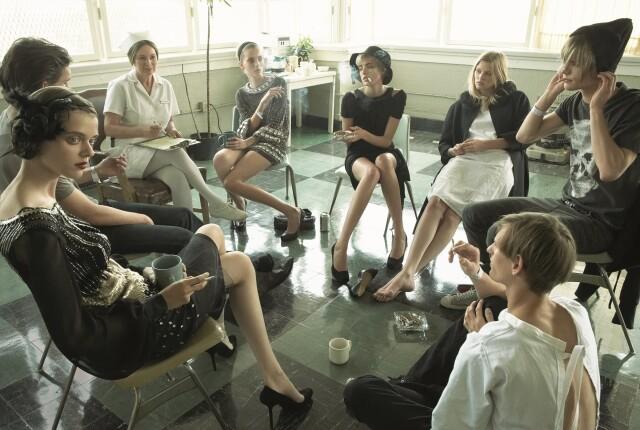 Из серии «Супермодели в реабилитационном центре», Vogue Италия, 2007. Фотограф Стивен Майзель