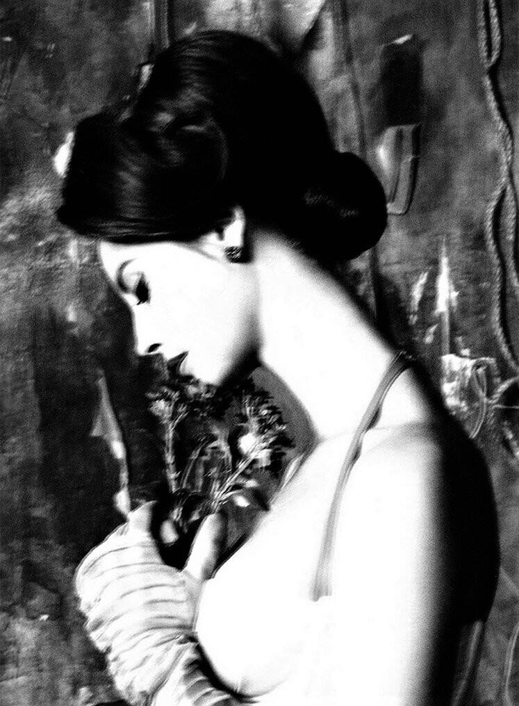 Кристи Тарлингтон, Vogue Италия, 2011. Фотограф Стивен Майзель