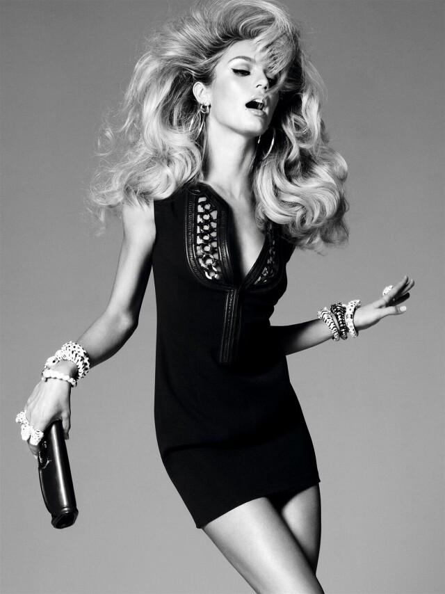 Кэндис Свейнпол, Vogue Италия, 2011. Фотограф Стивен Майзель
