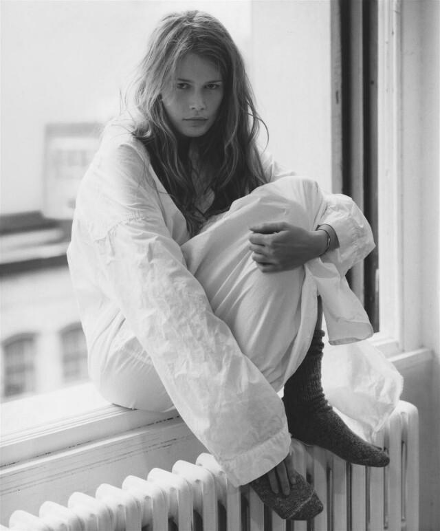 Клаудия Шиффер, 1993. Фотограф Стивен Майзель