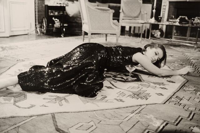 Роми Шнайдер, Париж, 1965. Фотограф Вернер Бокельберг