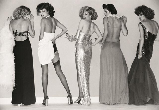 Azzaro Couture, 1973. Фотограф Вернер Бокельберг