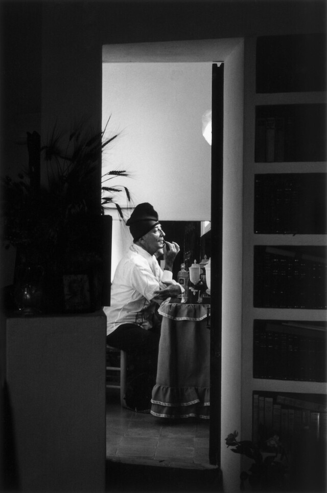 Сальвадор Дали, 1965. Фотограф Вернер Бокельберг