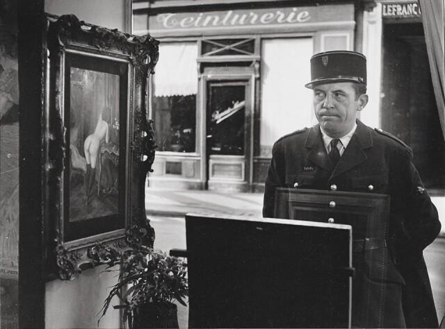 «Косой взгляд». Галерея Роми в Париже, 1948. Фотограф Робер Дуано