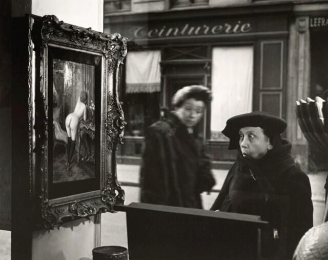 Дама в шоке, 1948. Фотограф Робер Дуано