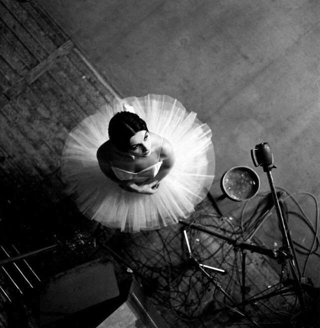 Балерина Катрин Верней,1963. Фотограф Робер Дуано