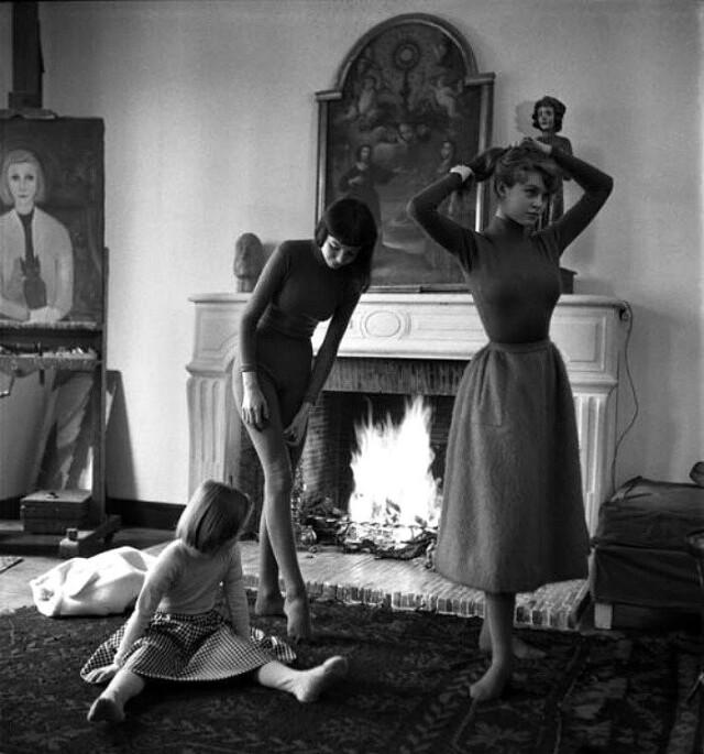 Брижит Бардо, ок. 1950. Фотограф Эмиль Савитри