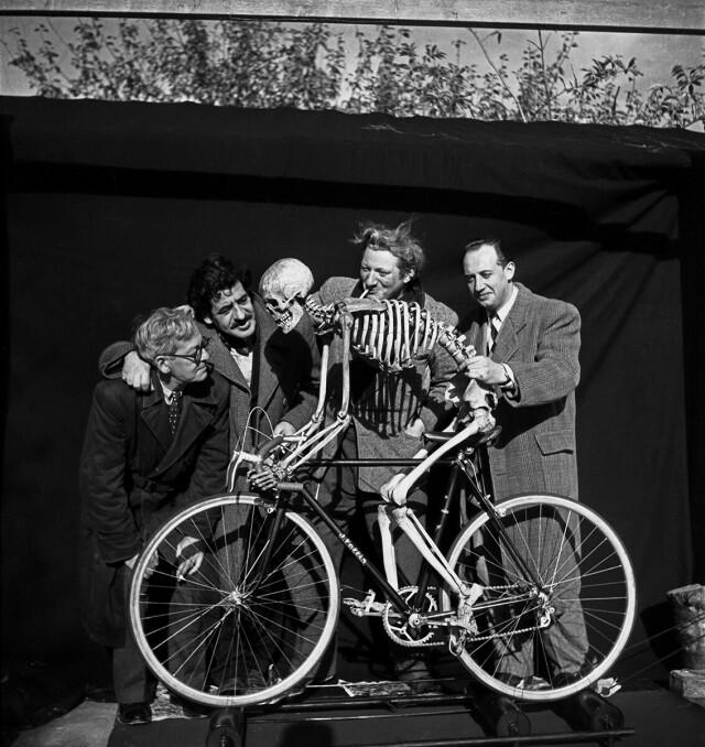 Оскар Домингес, 1950. Фотограф Эмиль Савитри