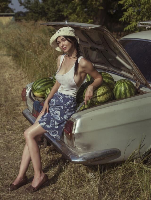 «Купите пару арбузиков». Фотограф Давид Дубницкий