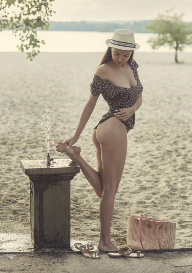 Пляжное настроение. Фотограф Давид Дубницкий