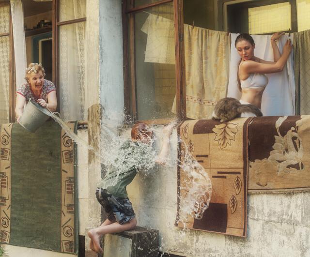 Преступление и наказание. Фотограф Давид Дубницкий (наказание)
