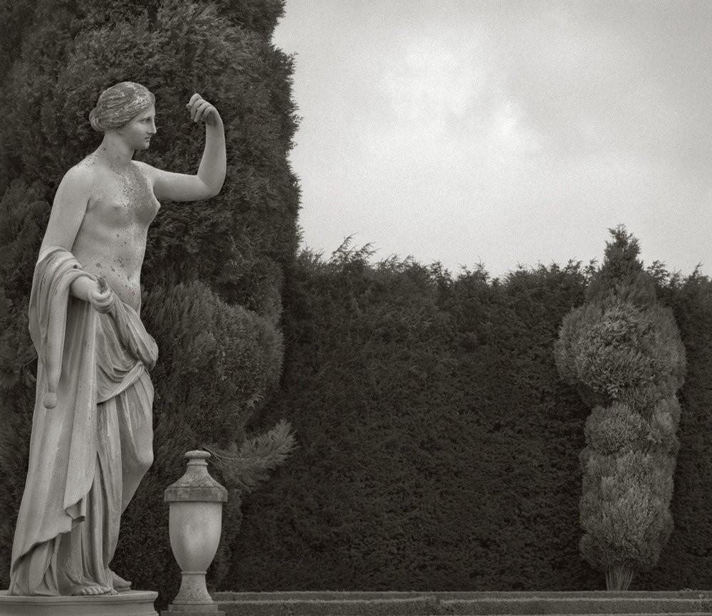 Статуя в саду Бленхеймского дворца, Англия. Бет Доу